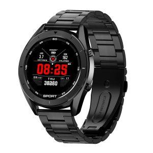 Reloj Inteligente DT-99 marca No. 1 con Pulsera Metálica color Negro