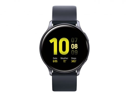 Reloj Inteligente Samsung Galaxy Watch Active 2 40mm Aluminio Aqua Black