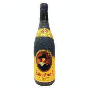 Botella de Vino Tinto Faustino I Gran Reserva - Tempranillo / Graciano / Mazuelo - España - Rioja
