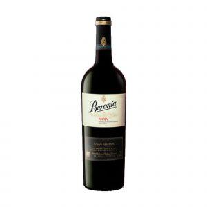 Botella de Vino Tinto Beronia Gran Reserva - Tempranillo / Graciano - España – Rueda