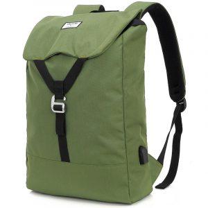Mochila de Viaje Impermeable marca Kingslong color Verde