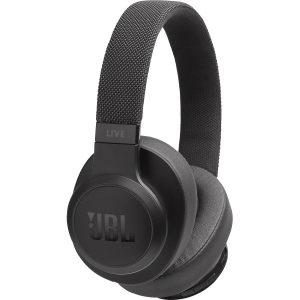 Audífonos Bluetooh JBL Live 500BT con Cancelación de Ruido color Negro