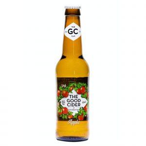 Botella de Sidra The Good Cider de Manzana of San Sebastian 330 ml