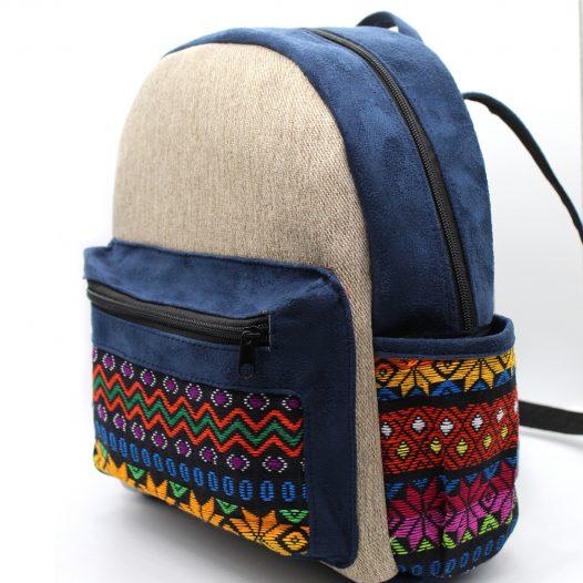 Mochila diseño Típico color Azul Marino para Mujeres