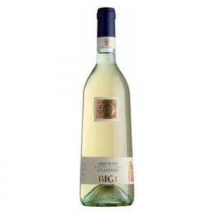 Botella de Vino Blanco Bigi, Orvieto Classico Secco DOC