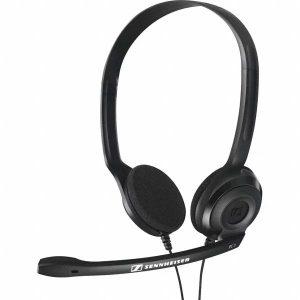Audifonos con Microfono para Call Center marca Sennheiser PC3 Chat