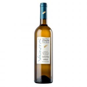 Botella de Vino Blanco Vionta Albariño - Albariño - España - Rias Baixas