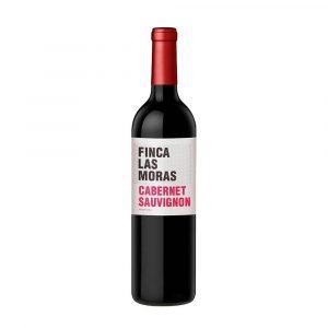 Botella de Vino Tinto Finca las Moras - Cabernet Sauvignon - Argentina - Valle de Pedernal