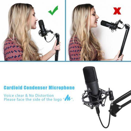 Maono Kit micrófono AU-A04 PLUS