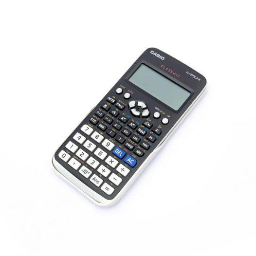 Calculadora Científica Classwiz fx-570LA X - Color Gris con Blanco - 553 Funciones - Marca Casio
