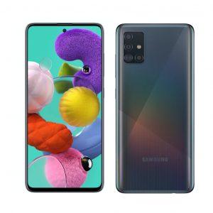 """Celular Samsung Galaxy A51 4GB RAM 128GB 6.5"""" 48Mgpxl Liberado DualSIM color Negro"""