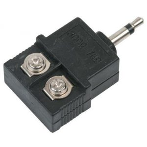 Acoplador de 300 a 75 Ohms con conector de 3,5 mm