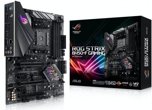 Motherboard Gaming ASUS ROG AMD B450-F Gaming ATX