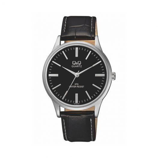 Combo Afeitadora Eléctrica Marca Phillips Aqua Touch S1070/04 + Reloj para Hombre de Pulsera de Cuero marca Q&Q color Negro