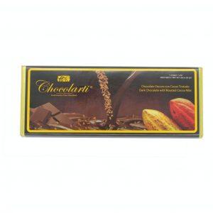 Barra de Chocolate Oscuro con Cacao Tostado de 45gr marca Chocolarti