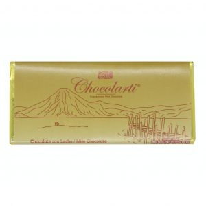 Barra de Chocolate con Leche de 90gr marca Chocolarti