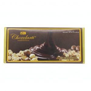 Barra de Chocolate con Leche y Macadamia de 90gr marca Chocolarti