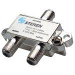 Divisor de 2 salidas a 75 Ohms 1 GHz marca Steren