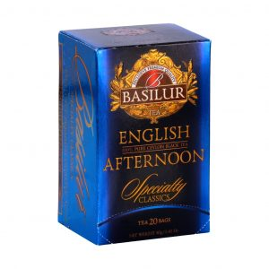 Caja de Té English Afternoon marca Basilur – 20 Unidades