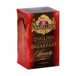 Caja de Té English Breakfast marca Basilur – 20 Unidades