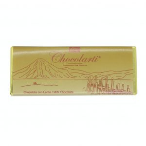 Barra de Chocolate Con Leche de 45gr marca Chocolarti