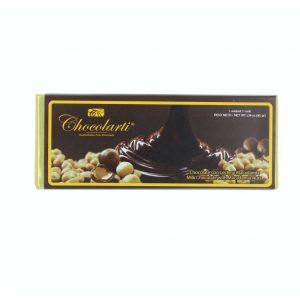 Barra de Chocolate Con Leche y Macadamia de 45gr marca Chocolarti