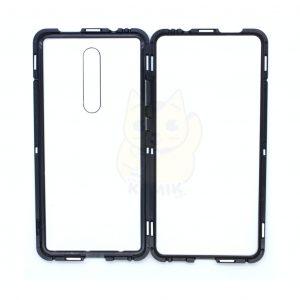 Case Magnético Transparente para Celular Xiaomi Mi 9T Orilla Negra
