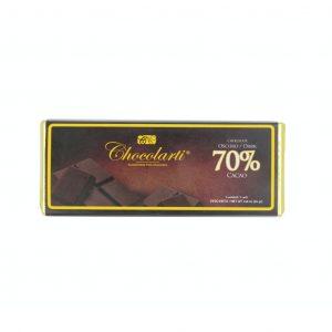Barra de Chocolate Oscuro con 70% Cacao de 45gr marca Chocolarti