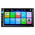 "Radio Universal para Carro con Pantalla de 7"" - Radio FM/AM - USB/AUX/SD/Bluetooth"