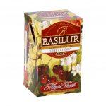 Caja de Té Negro sabor a Cereza marca Basilur – 20 unidades