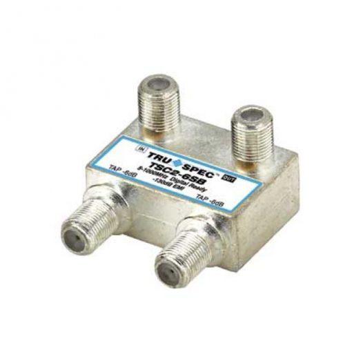 Acoplador direccional con 2 Taps, 6 dB de atenuación, con caja soldada