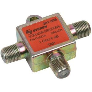 Acoplador direccional tipo T, de 1 GHz, 9 dB