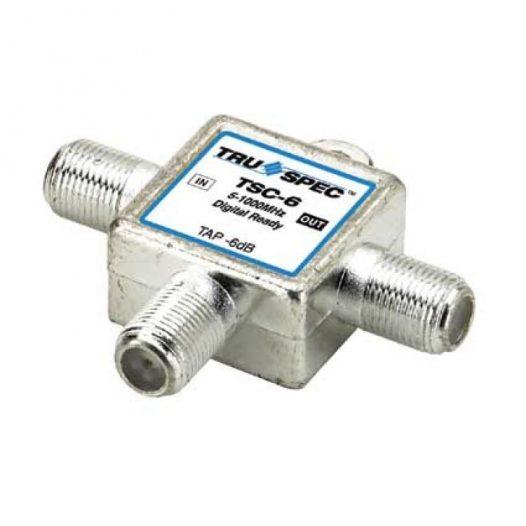"""Acoplador direccional tipo """"T"""", de 12 dB de atenuación, con caja soldada"""