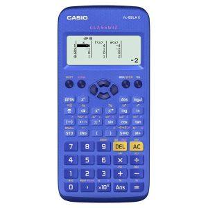 Calculadora Científica Classwiz fx-82LA X-BU - Color Azul - 275 Funciones - Marca Casio