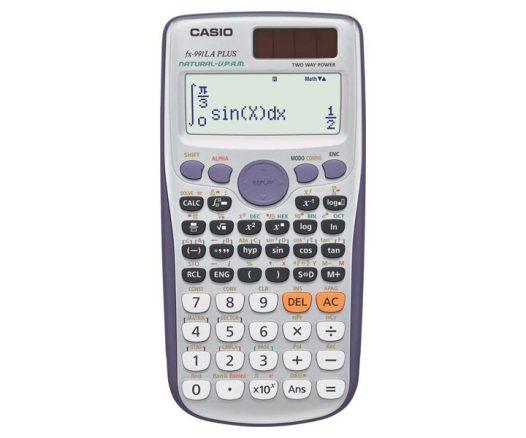 Calculadora Científica Classwiz fx-991LA PLUS - Color Gris con Morado - 417 Funciones - Marca Casio