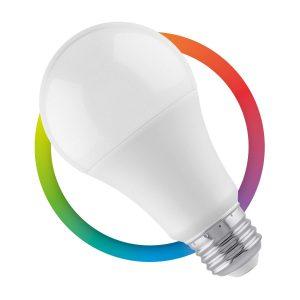 Foco LED RGB controlado por Wi-Fi luz fría de 7W marca Steren