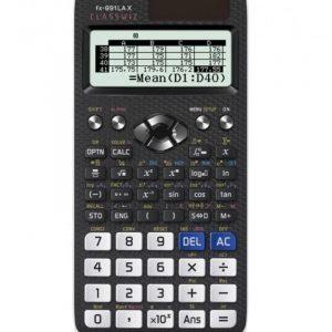 Calculadora Científica Classwiz fx-991LA X - Color Gris con Blanco - 553 Funciones - Marca Casio