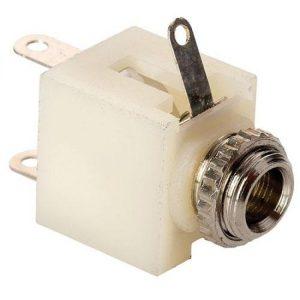 Jack de audio de 3,5 mm estéreo, encapsulado, para chasis