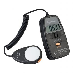 Medidor Digital de Luminosidad (luxómetro) marca Steren