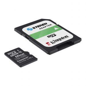 Memoria microSD de 16 GB, clase 4 marca Kingston Edición Steren