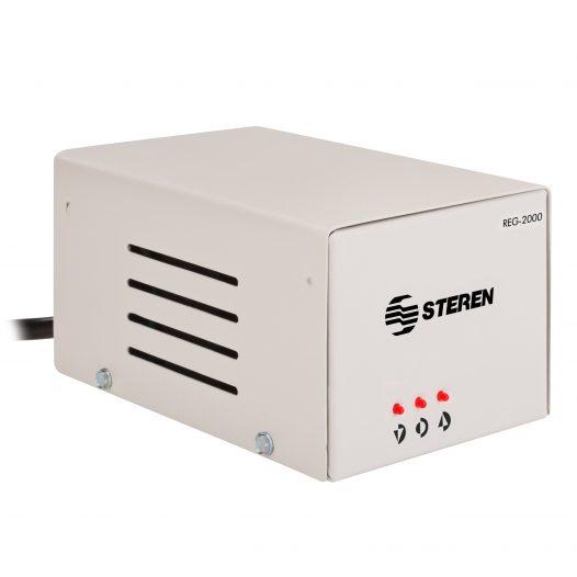 Regulador de Voltaje de 2000W con indicador de estado marca Steren
