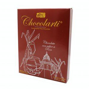 Caja de Trufas de Chocolate Sabor a Ron - Marca Chocolarti - 12 unidades