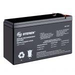 Batería Sellada de ácido-plomo, 12 Vcc 7 Ah marca Steren