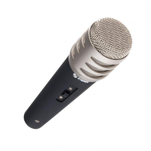 Micrófono con Cabeza Metálica marca Steren