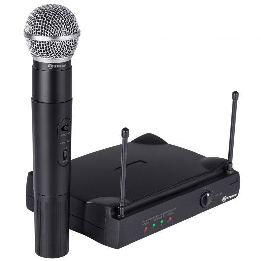 Micrófono Profesional Inalámbrico UHF con Squelch marca Steren