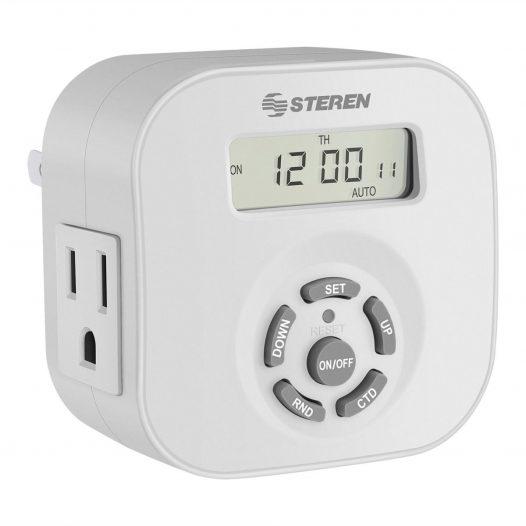 Temporizador (Timer) Digital de 20 eventos marca Steren