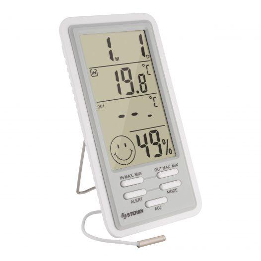 Termómetro Digital con Sensor de Humedad marca Steren