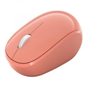 Mouse Microsoft Óptico Bluetooth rosado RJN