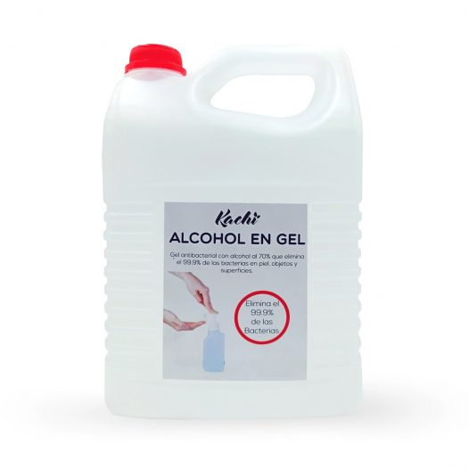 Alcohol en Gel Antibacterial Galón / 70%