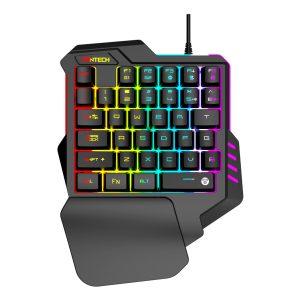 Teclado Gaming de 35 Teclas RGB con 2 Botones Macro marca Fantech